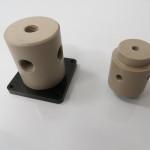 Peek body, large orifice, manifold mount valves